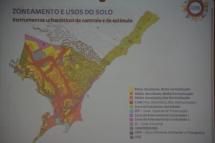 desenho da cidade em relação ao parcelamento e uso do solo