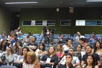 parte do auditório da 5ª audiência pública do PD